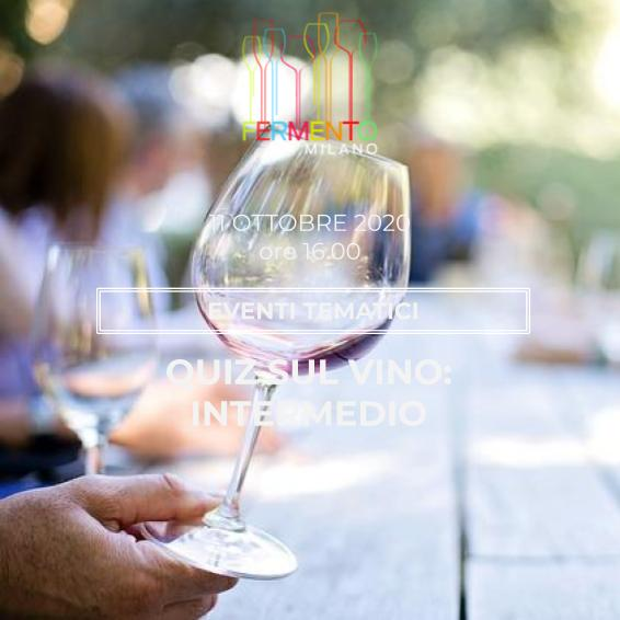 Wine Quiz Intermedio - Fermento
